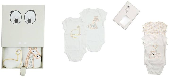 Body in cotone organico firmato Stella McCartney..in una originalissima confezione... per i bebé 3-9 mesi di Cocochic   http://www.cocochic.it/it/baby/444-set-body-weekend.html… http://www.cocochic.it/it/baby/443-body-wecome.html