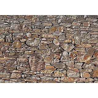 Komar Fototapete Stone Wall  (8-tlg., 368 x 254 cm)