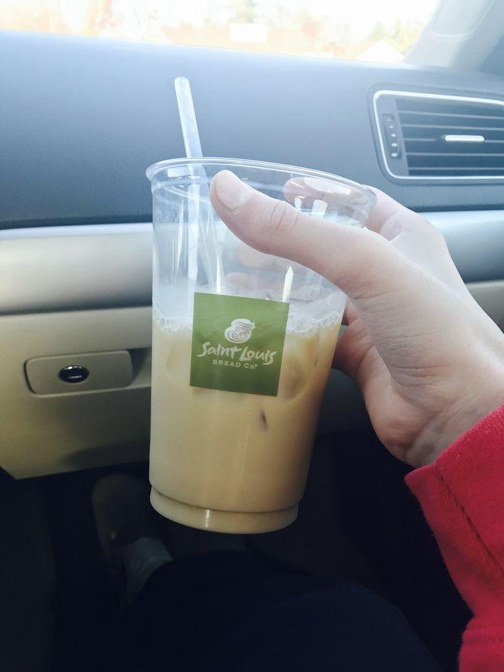 Stl Bread co iced coffee 💕