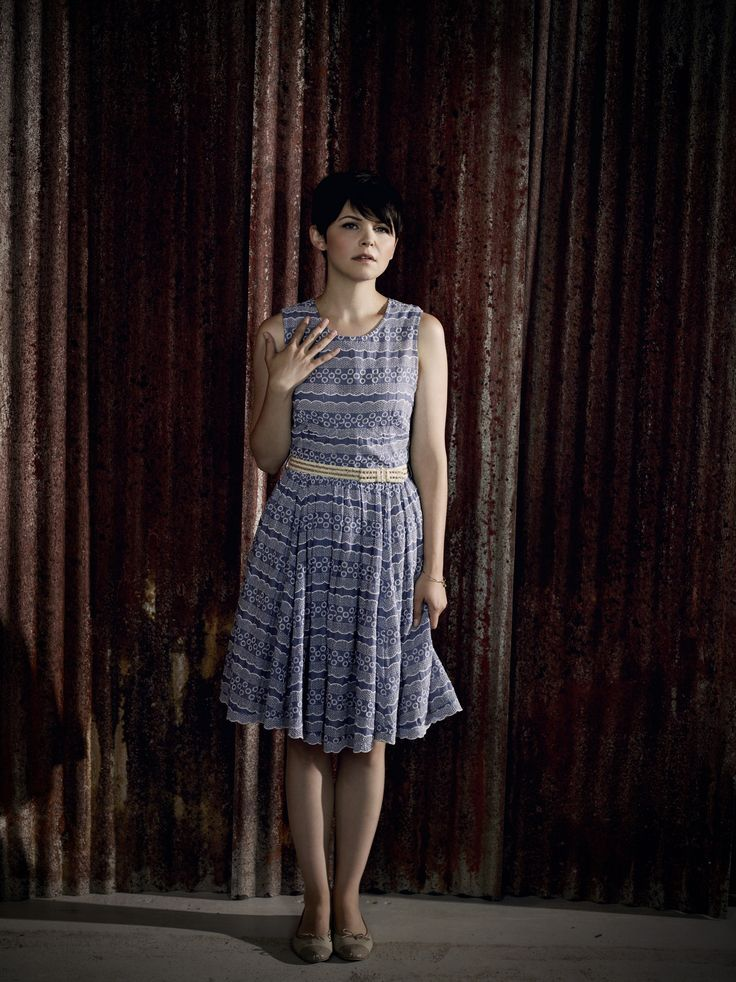 Ginnifer Goodwin in a publicity photo for 'Once Upon A Time' (Season 1).