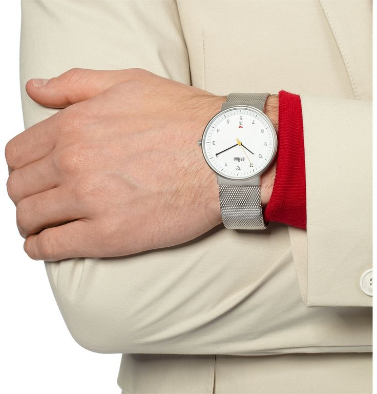 Braun x Dieter Rams - BN0032 Stainless Steel Watch|MR PORTER