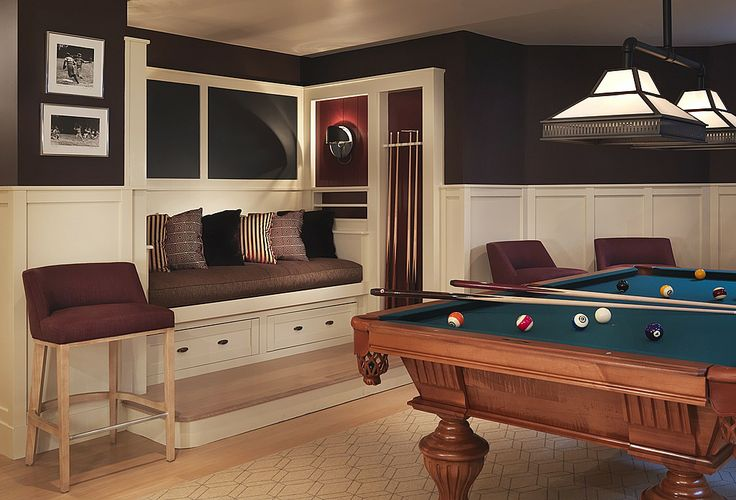Craftsman Game Room - Found on Zillow Digs. I just Love, love, love this room:)
