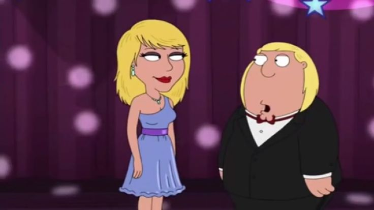 "A screenshot from ""Family Guy"" season 15 episode 6."