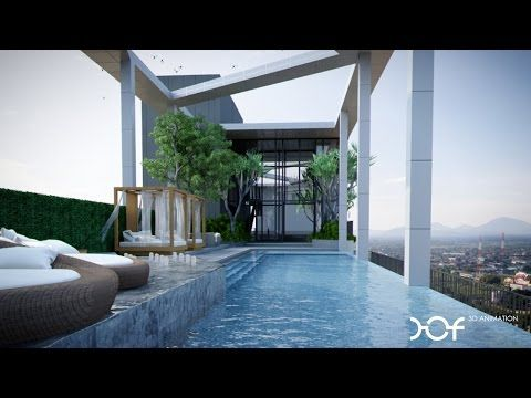 DOF 3D Animation : ESCENT Rayong Condominium by CPN - YouTube
