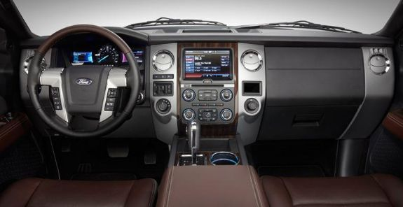 2017 Ford Excursion Interior