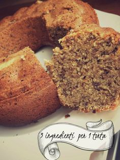 briciole #free: 3 ingredienti x 1 (nocciol)Torta