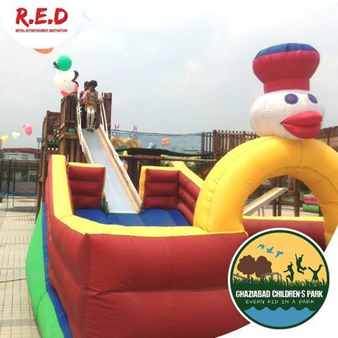 Ready to have some ‪#‎fun‬ with your ‪#‎kids‬? You along your family & children are invited any day from 4pm till 9pm to visit the ‪#‎GhaziabadChildrenPark‬! ‪#‎REDMALL‬