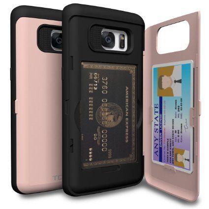 online retailer 3e911 52862 Amazon.com: Galaxy S7 Edge Case, TORU [CX PRO] - [CARD SLOT] [ID ...