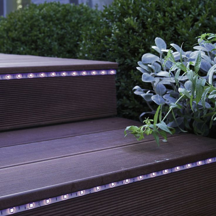 strip led kit ruban led extrieur couleurs changeantes l3m lumihome - Bande Lumineuse Led Exterieur