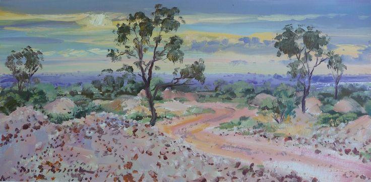 4 Mile Opal field Lightning Ridge By David Badcock