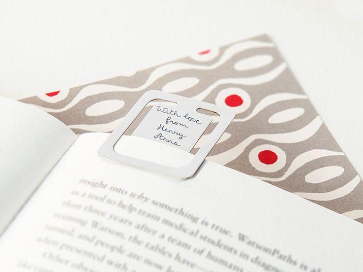 Personalised Bookmark Clip. #bookmark #book #reader #clip #mercimaman