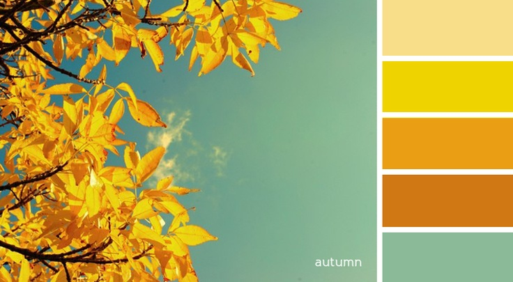 palette - autumn