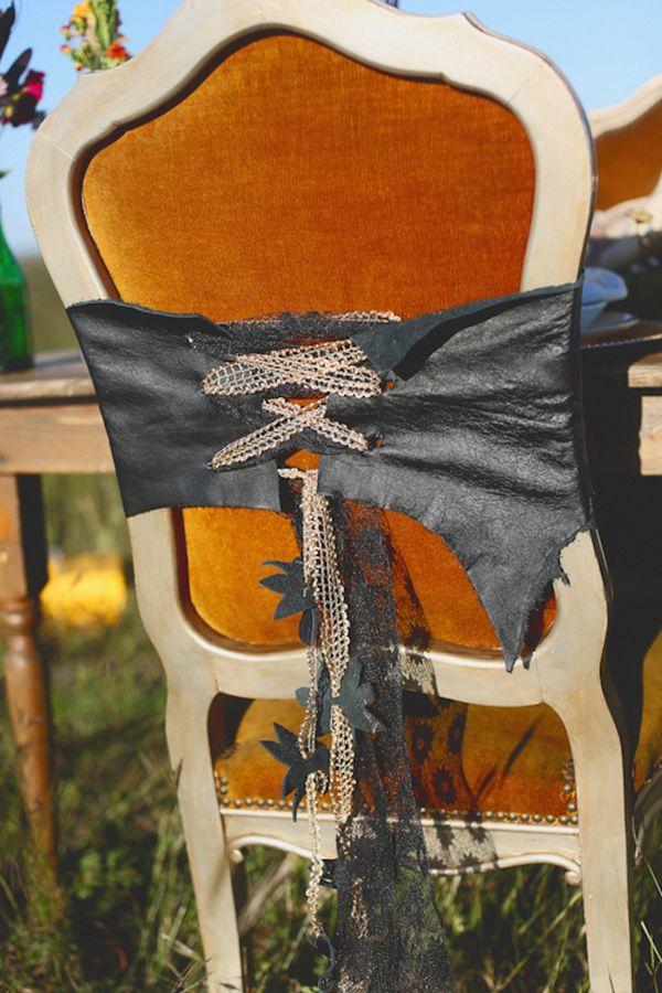 steampunk chair backs // photo by Christina Carroll