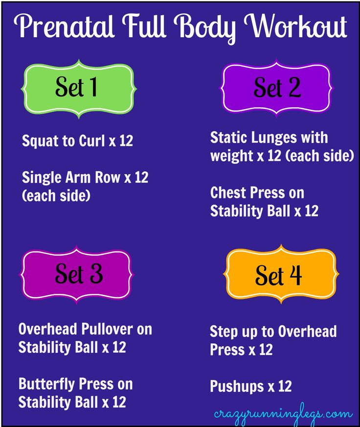 Prenatal Full Body Workout...no baby here but hey it looks like it'll work!