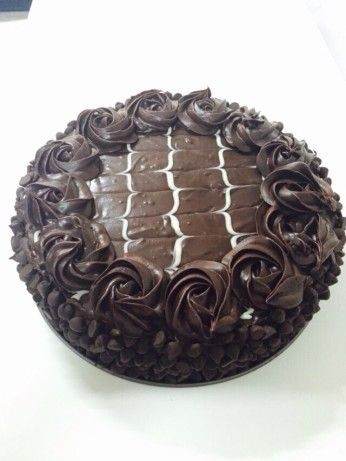 *the Real* Black Tie Mousse Cake by Olive Garden - YUMMY RECIPE, BUT A LOT OF WORK!