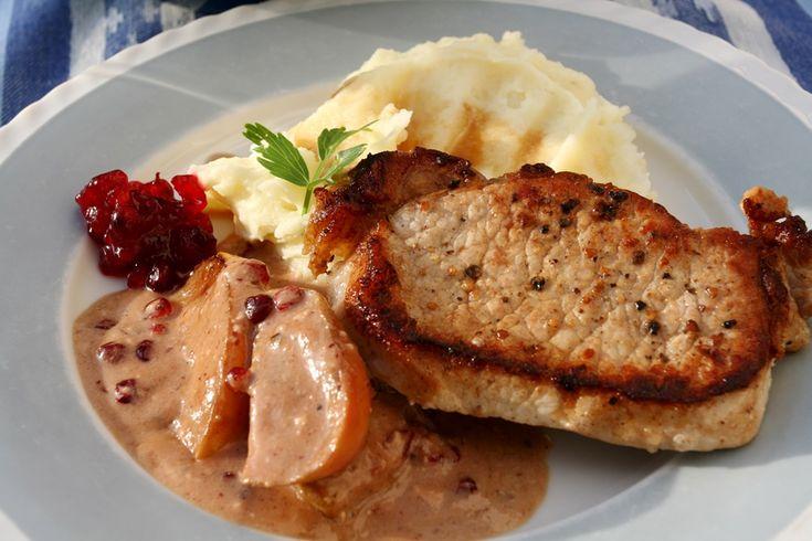 Kotlety podle Ainsleyho jsou stálicí v naší kuchyni. Nebojte se podivného spojení masa se zavařeninou, je to výtečné!