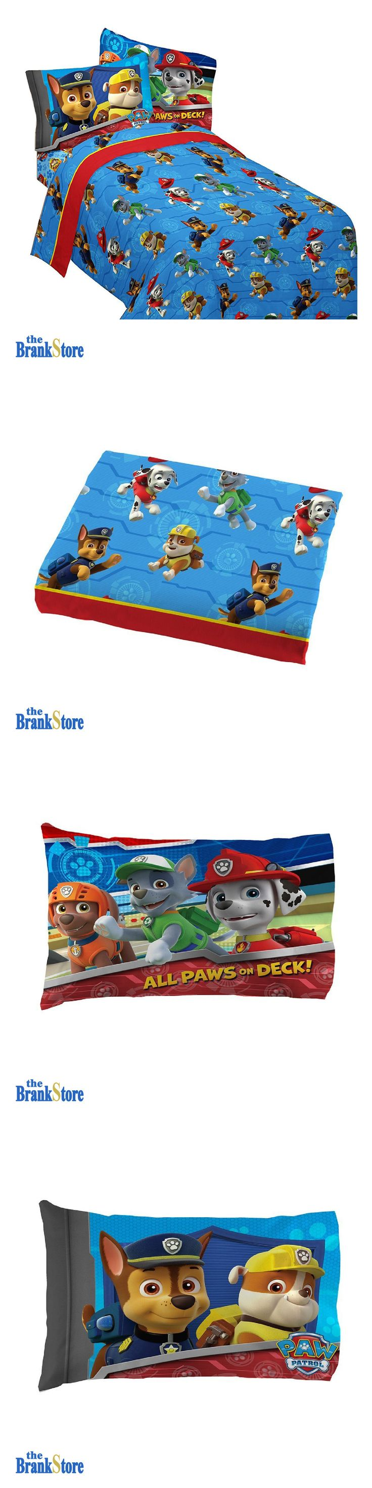 Other TV Movie Character Toys 2622: Kids Bedroom Sheets Paw Patrol Twin Bedding Set Ruff Ruff Rescue Comfort Sheet -> BUY IT NOW ONLY: $600 on eBay!