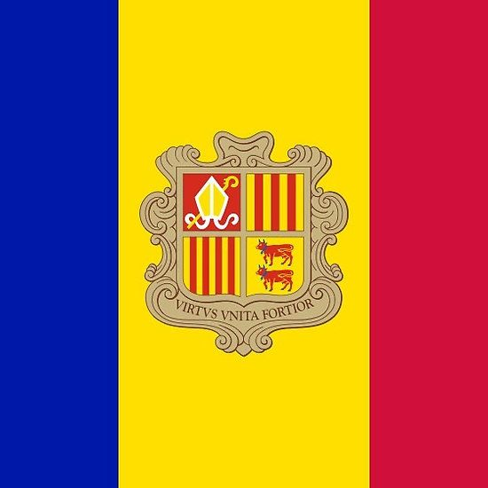 Andorra Flag Products