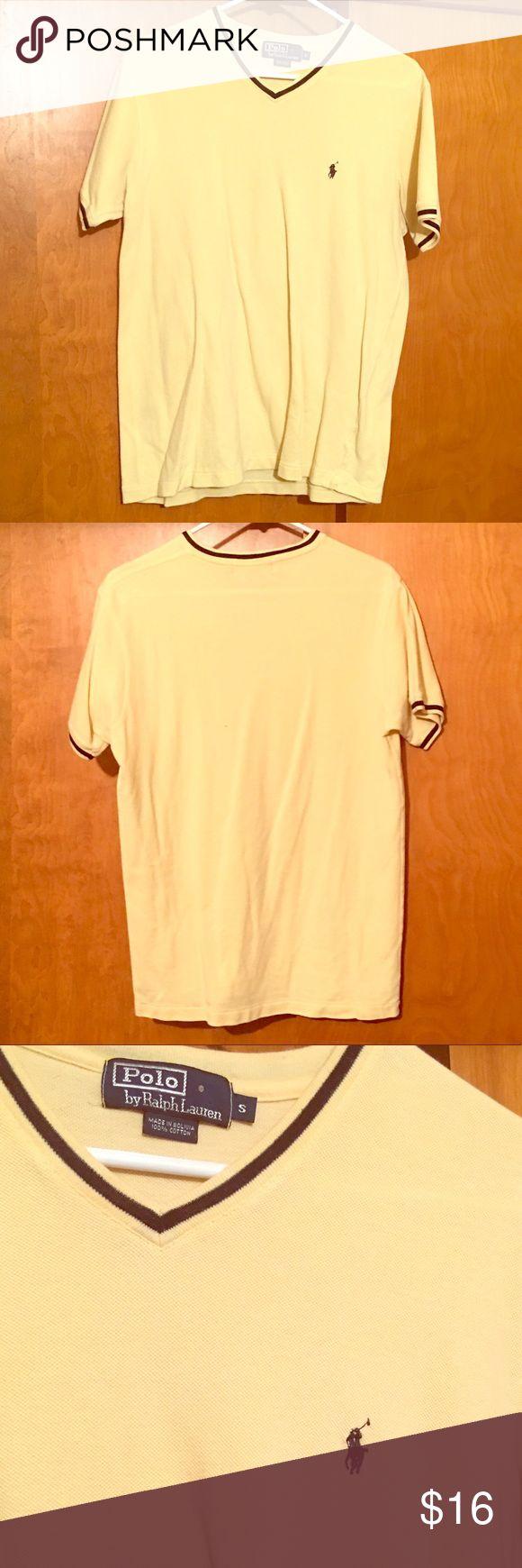 🎉SALE🎉Ralph Lauren Polo T-shirt Ralph Lauren Polo v-neck t-shirt. Men's size S. Polo by Ralph Lauren Shirts Tees - Short Sleeve