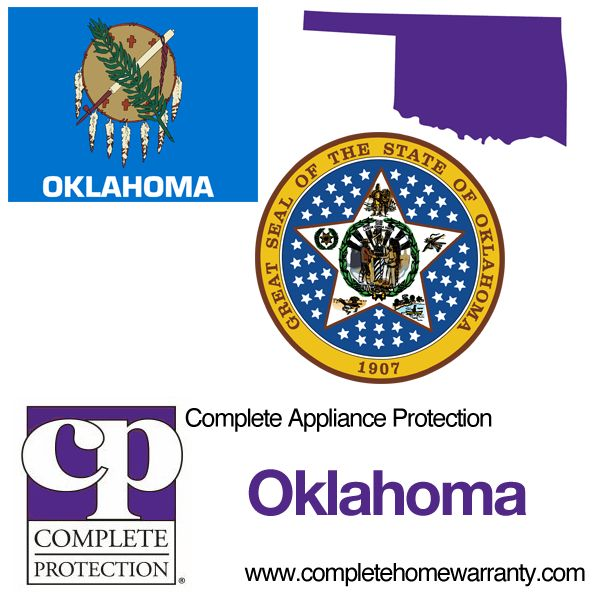 Oklahoma Home Warranty - Complete Appliance Protection - Best Home Warranty Reviews - Call 1-800-978-2022 - Oklahoma Home Warranty