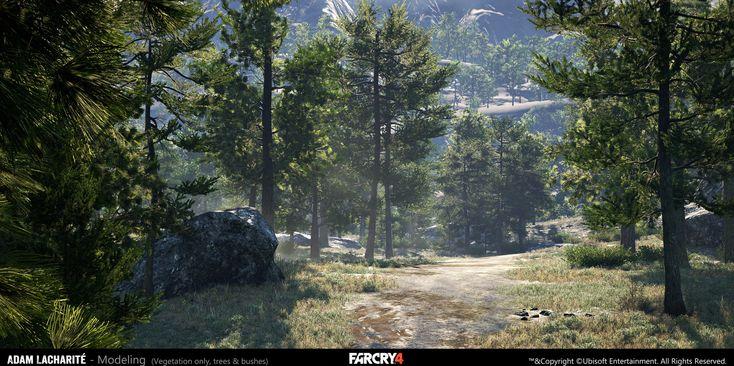 ArtStation - Far Cry 4, Adam Lacharité