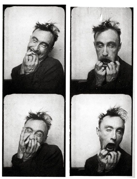 Omg, love this dude!  (Yves Tanguy, photomaton, boulevard des Italiens, Paris 1928)