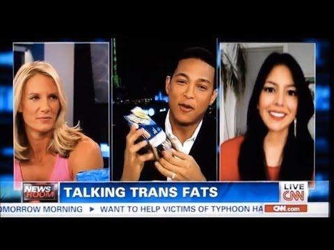 Vani Hari aka Food Babe on CNN Live Talking Trans Fat
