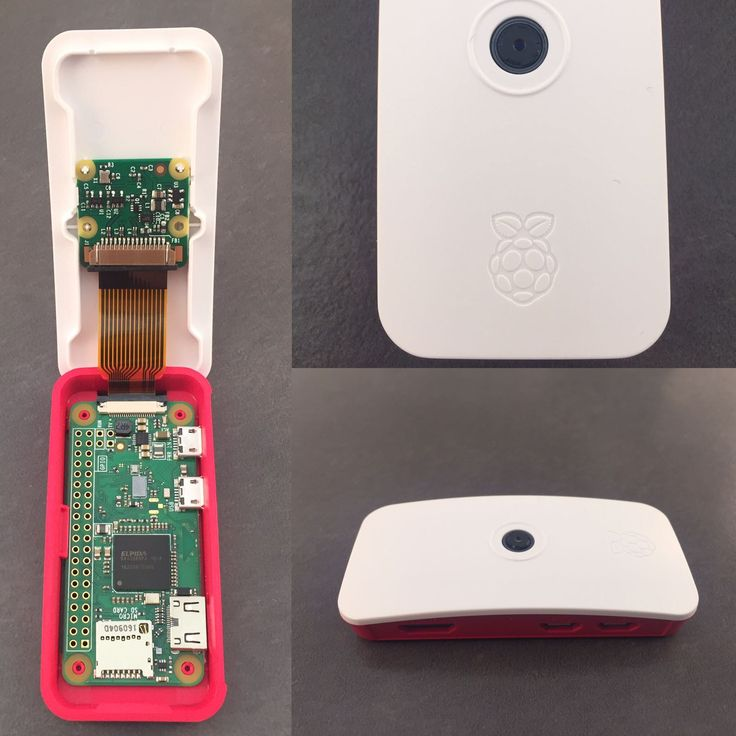 The new Raspberry Pi Zero W is 100% squee in it's new case with it's teeny tiny camera cable.