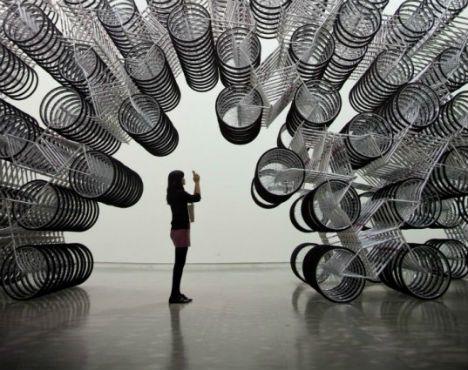 Bicycle art: Ai Weiwei, Bikeart, Art Museums, Aiweiwei, Art Installations, Bicycles Art, Bike Art, Inspiration Art, Hot Wheels