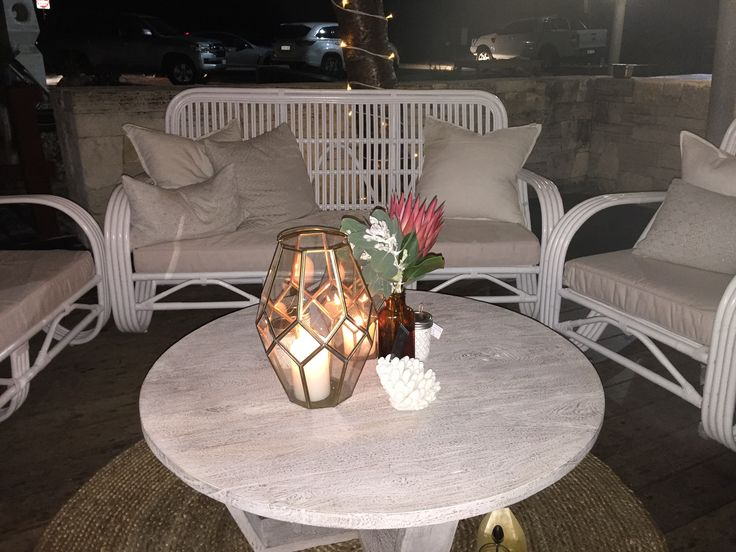 Beautiful Butterfly Lounges by candle light.