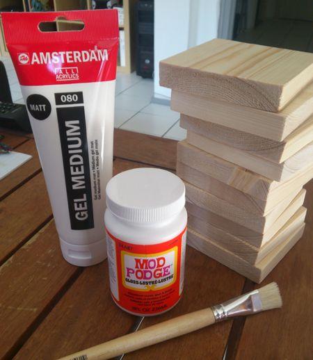 Benodigdheden om een foto op hout te maken | Meer tips en tricks: http://www.jouwwoonidee.nl/foto-op-hout/
