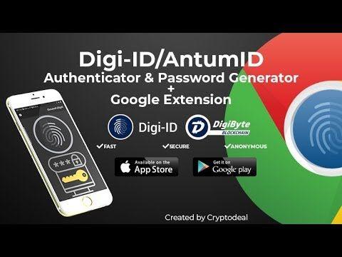 DigiByte - Login to FaceBook with Digi-ID! New Google Chrome