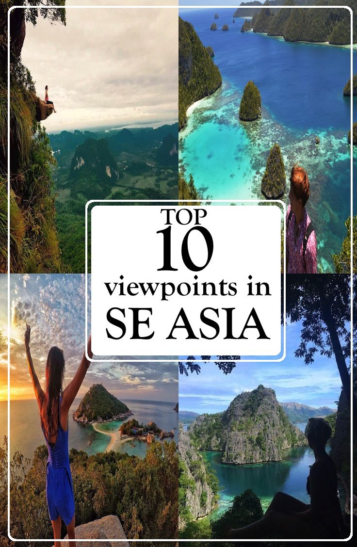 Top 10 Viewpoints In Southeast Asia