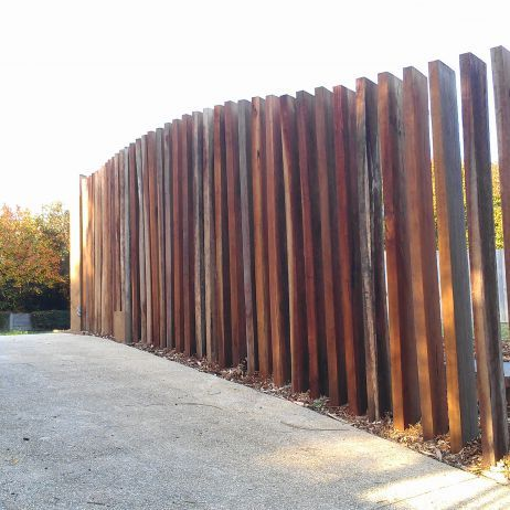 Vertical timber screen google search pool for Pool fence screening ideas