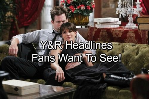 The Young and the Restless Spoilers: What Happens To These Y&R Characters - Headlines Fans Would Like To See