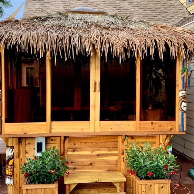 3ft x24ft Lampac Matting Roll Bamboo Wall Covering Grt 4 Tiki Thatch Bar TWO