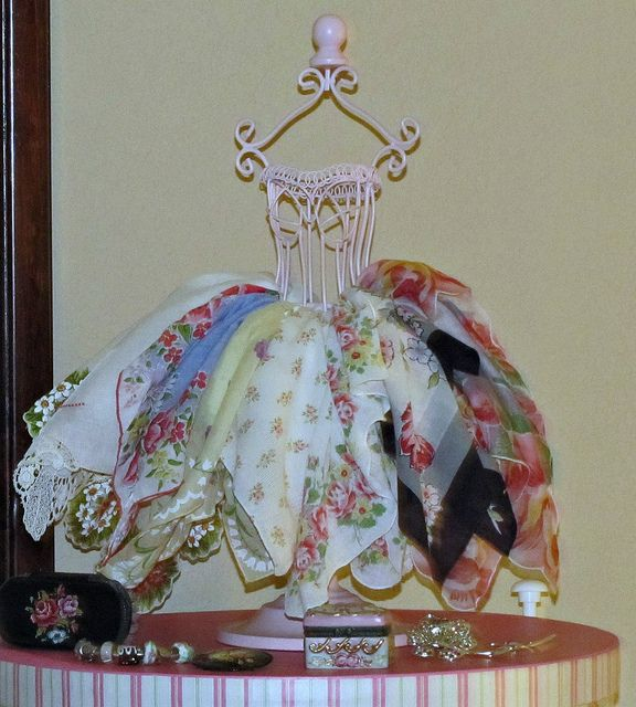 Hankie Skirt by She'sSewPretty, via Flickr