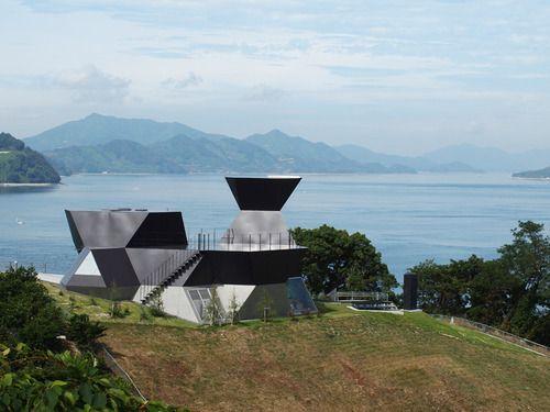 Toyo Ito wins Pritzker prize. Architecture Museum, in Omishima, Imabari, Japan