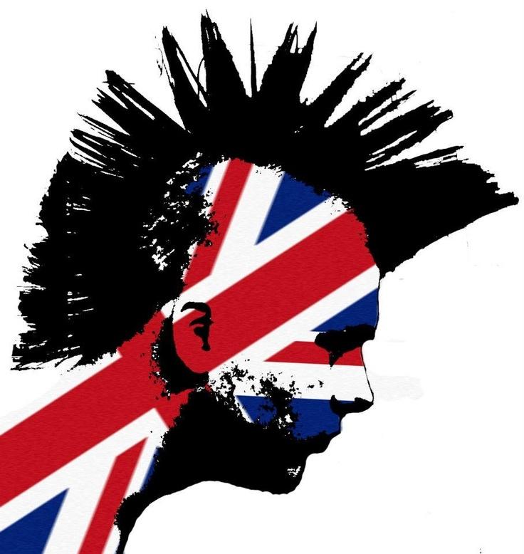Schoudertas Union Jack : Union jack punk head chaos to couture