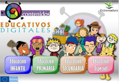 "La CASETA, un lloc especial: Pàgina de recursos: ""Contenidos Educativos Digitales"""