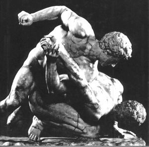 Ancient Wrestlers