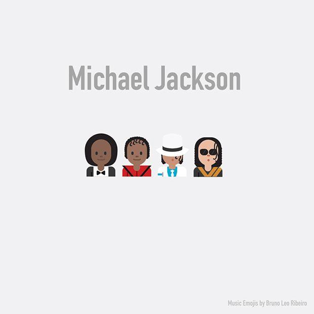 Diretor de arte brasileiro transforma músicos famosos e bandas de rock em Emojis