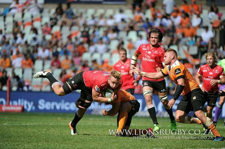 Ruan Ackermann in action against the Cheetahs. The Emirates Lions walked away with a 25-28 win. #LeyaTheLion #Lions4Life #EmiratesLions #Liontainment #SuperRugby #CHEvLIO #BeThere