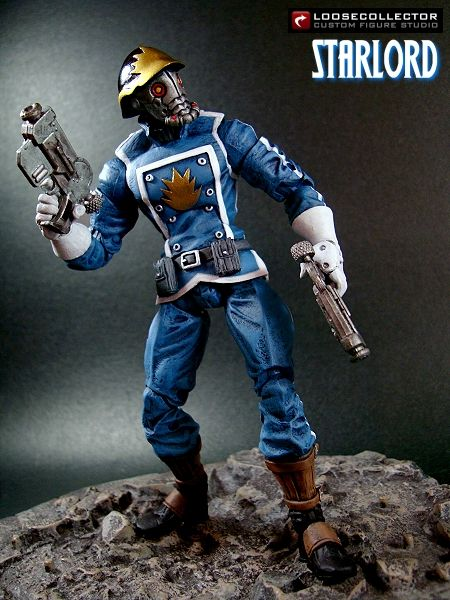 Loosecollector Custom Action Figures Official Website: Starlord