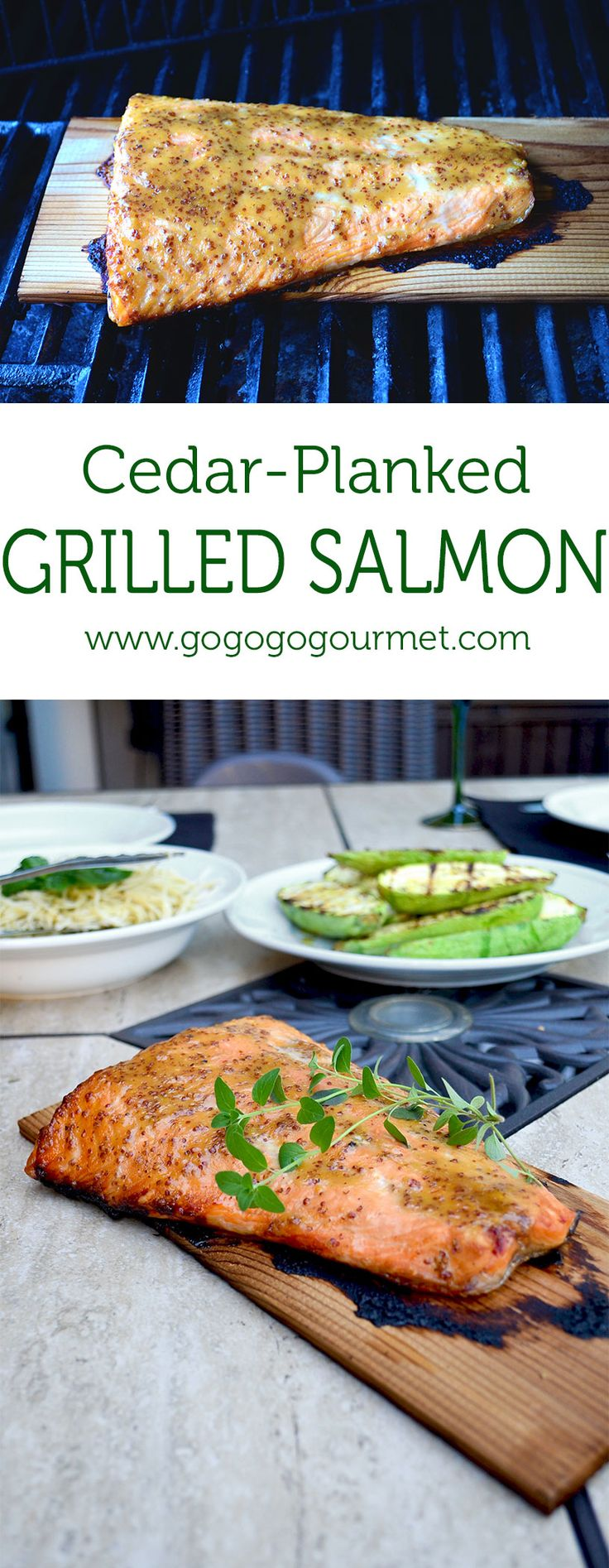 Cedar planked grilled salmon recipe grilled salmon for Grilling fish on cedar plank