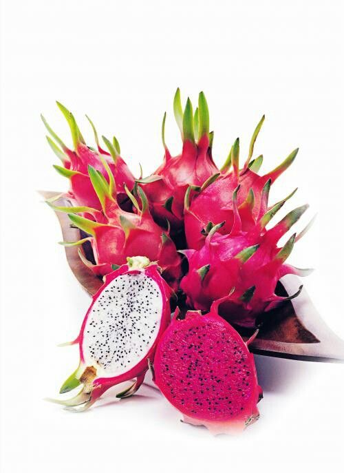 I think Dragon fruit is the prettiest fruit! It's so artistic!
