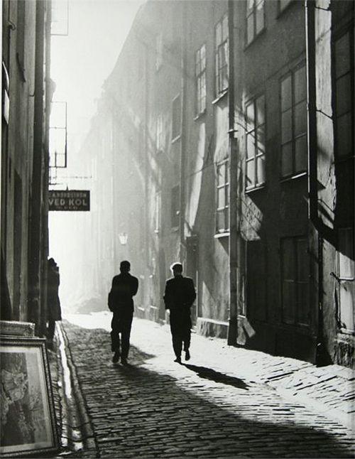 Dirk De Herder - The Old City, Stockholm, 1951