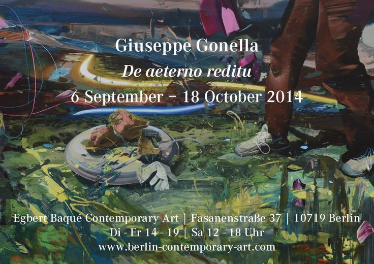 SAVE THE DATE! Opening: Saturday 6, 7 - 9 pm