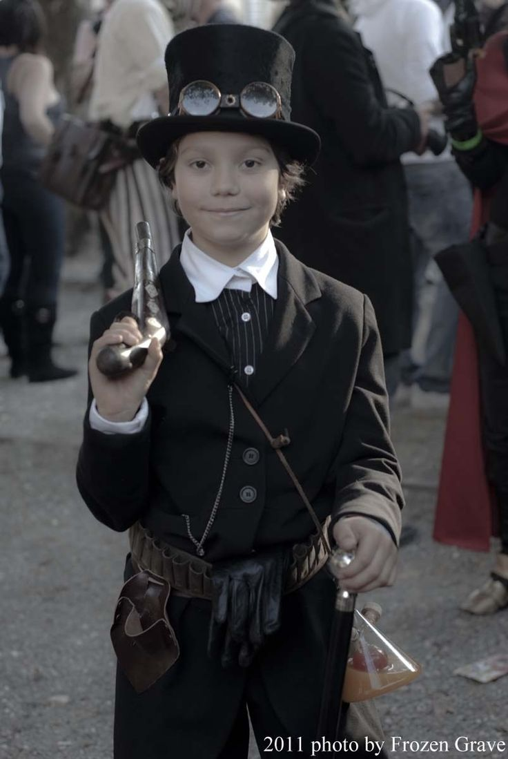 Steampunk Boy