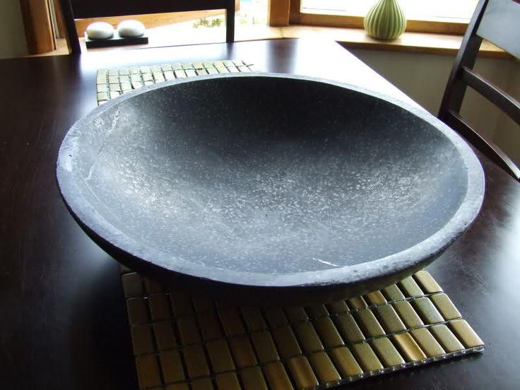 Large Ceramic Bird Bath Modern Ceramic Esschert Design with ship inside...no base